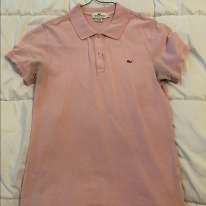 Women's pink vineyard vines polo